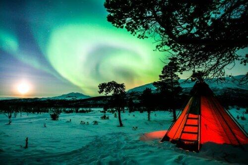Abisko: Besuche den Nationalpark in Lappland