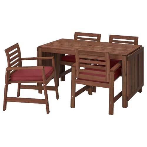 Ikea: Äpplarö Tisch-Set