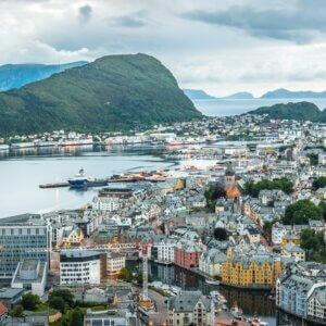 Ã…lesund: Malerischer Eingang zum Geirangerfjord