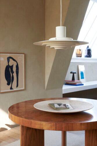 &Tradition Tisch mit Lampe