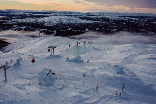 Ã…re: Skigebiet