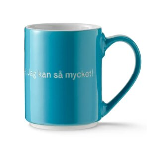 Astrid Lindgren Tasse in Blau