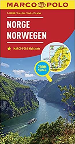 Atlantikstraße Norwegen Reiseführer Karten
