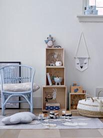 Bloomingville Impressionen Kinderzimmer blau