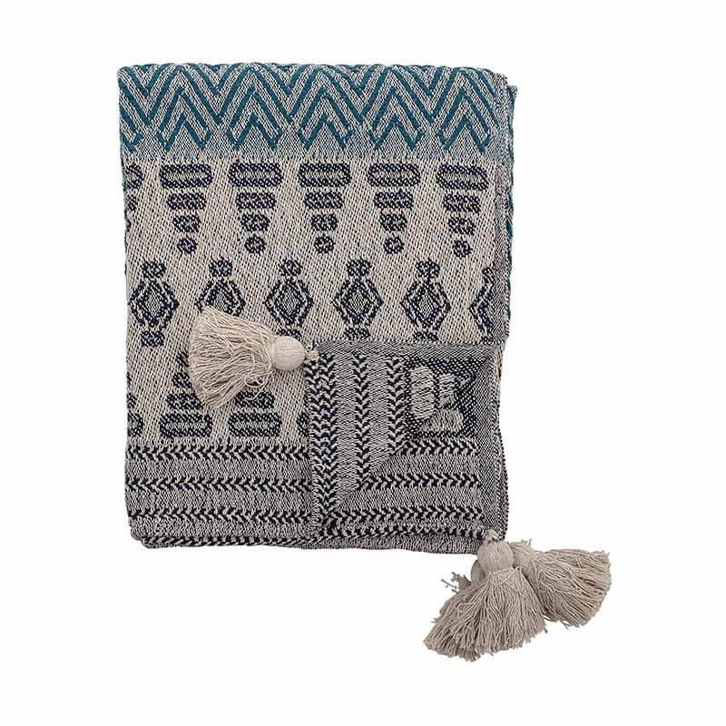 Bloomingville Decke aus Baumwolle