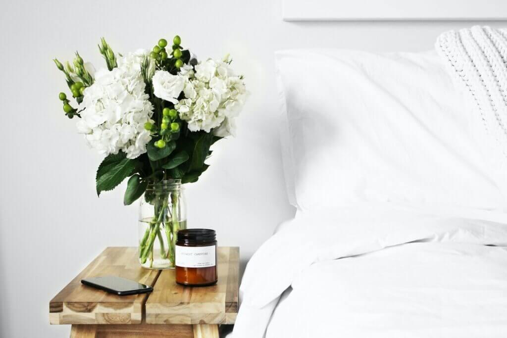 Skandinavischer Blumenständer