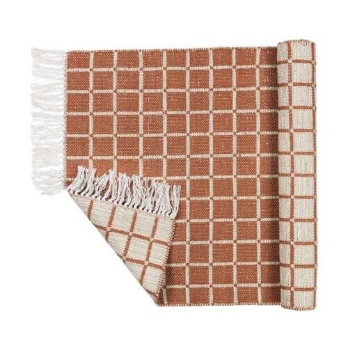 Broste Copenhagen: Teppich Henny aus Baumwolle