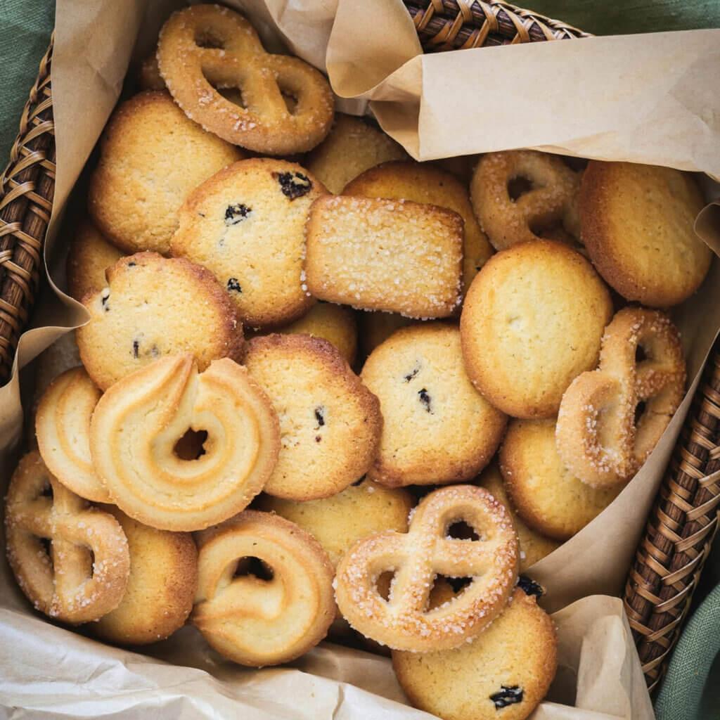 Dänische Butterkekse Rezept