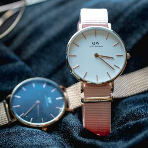 Daniel Wellington Produkte Uhrenarmbänder