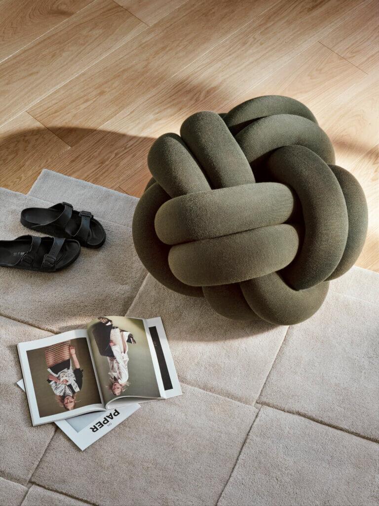 Design House Stockholm: Knot Kissen