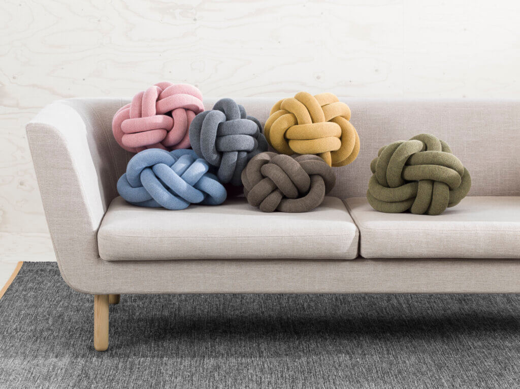 Design House Stockholm Kissen Knot