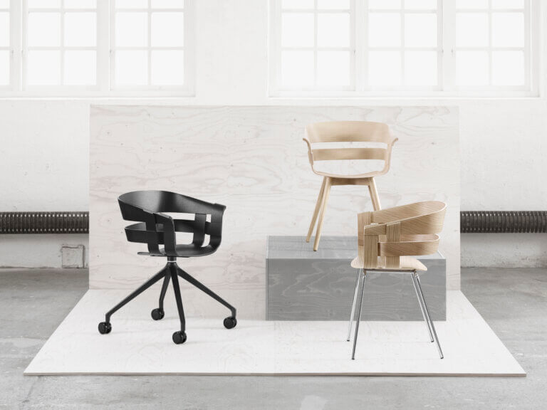 Design House Stockholm: Wick Chair Gruppe