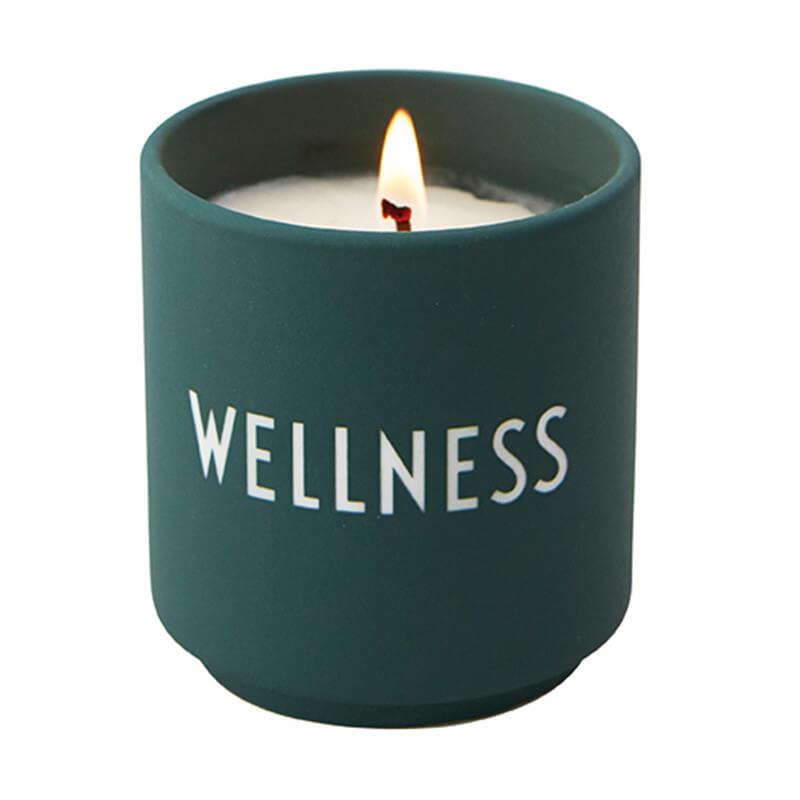 Design Letters Wellness Kerze