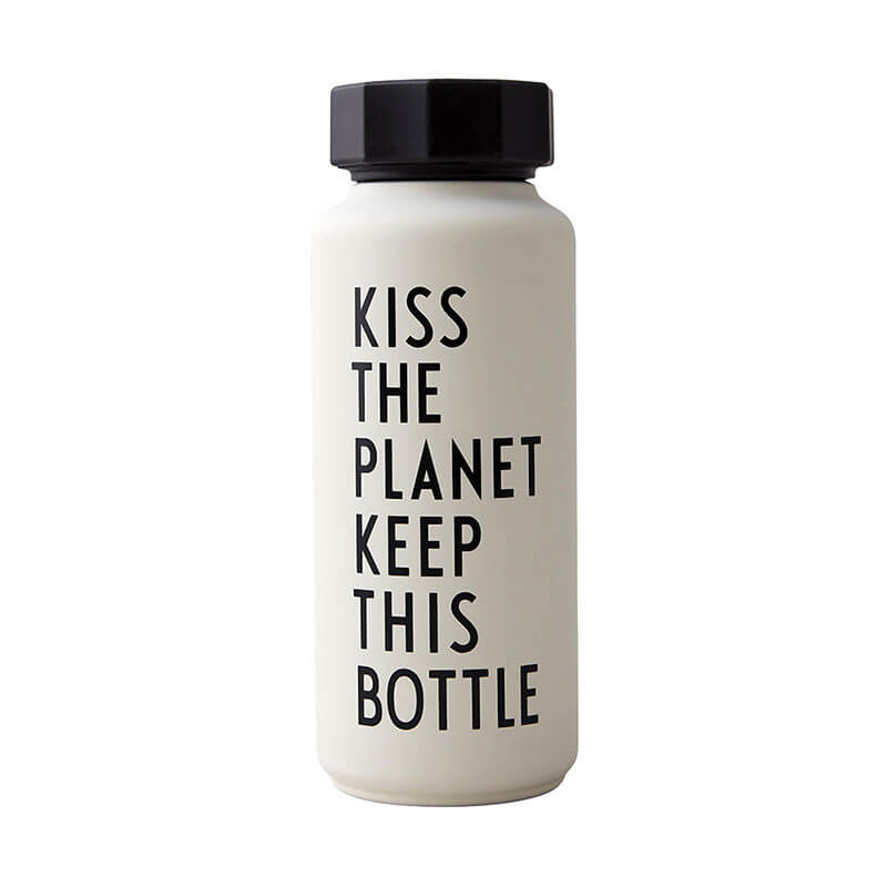 Design Letters Save the planet Flasche