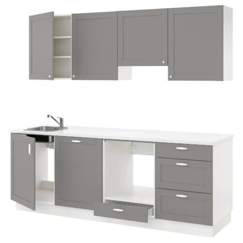 Küche Enhet in Grau
