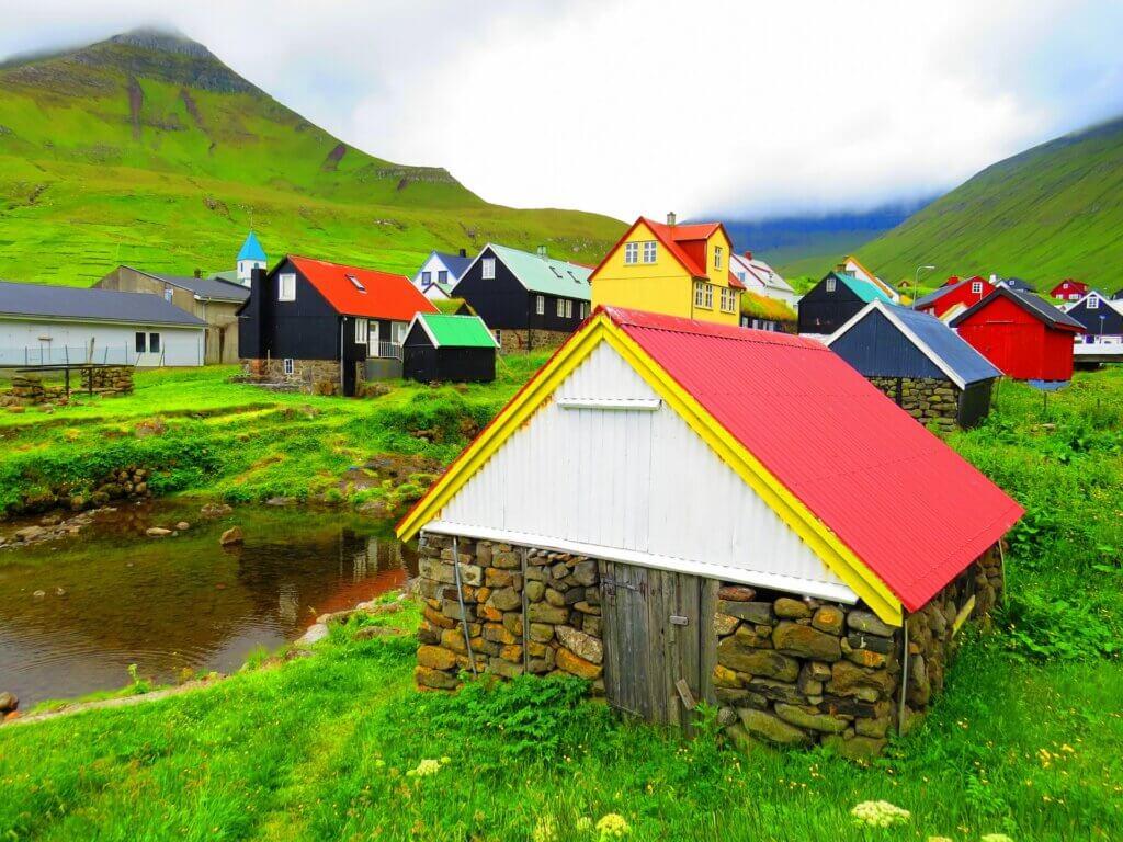 Unterkunft auf den Färöer-Inseln