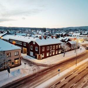 Falun: Heimat des Schwedenrots
