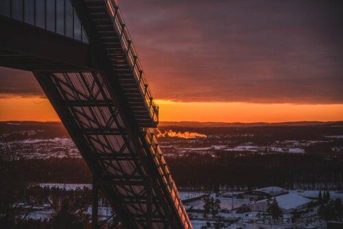 Falun: Skisprungschanze