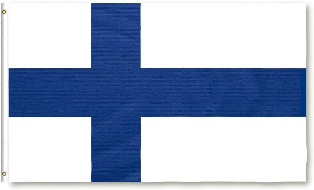 Finnland Flagge 90x150cm