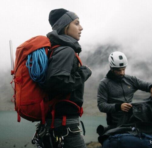 Fjällräven Impressionen Bergsteigen