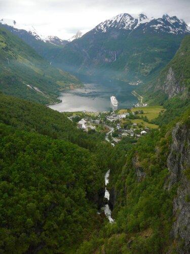Geirangerfjord Wandern