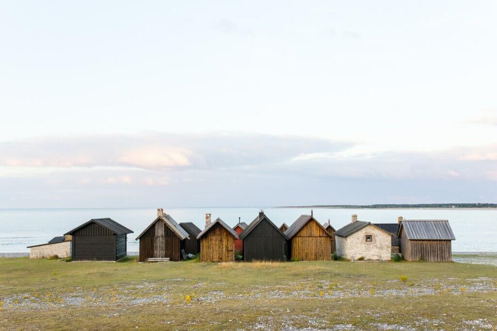 Gotland Impressionen Kulturelles Fischerhütten