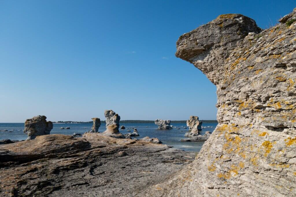 Gotland Impressionen Natur Felsformationen