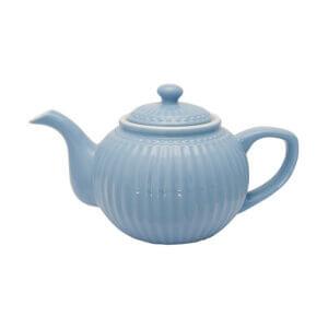 Greengate Teekanne Alica himmelblau