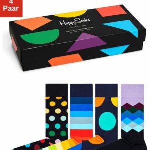 4-Paar Happy Socks Socken in Geschenkverpackung