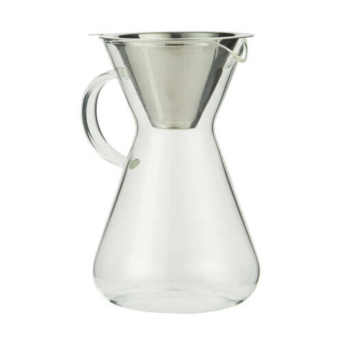 IB Laursen Kaffeekanne Glas