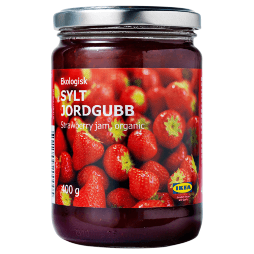 Schwedische Erdbeerkonfitüre