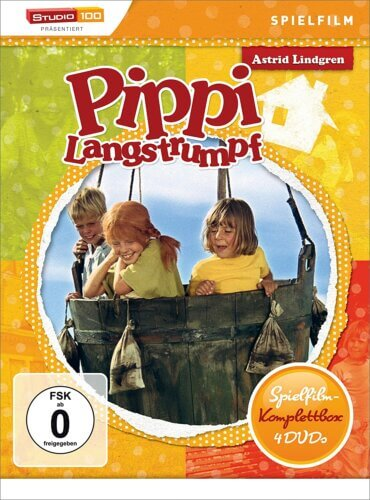 Pippi Langstrumpf: Spielfilm Komplettbox