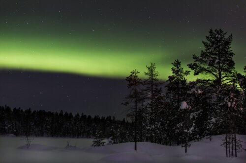 Ivalo: Polarlichter-Jagd im Zentrum Nordlapplands