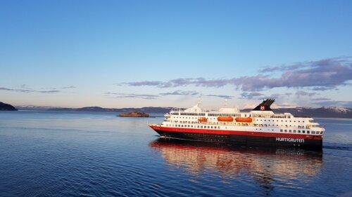 Kirkenes: Hurtigruten