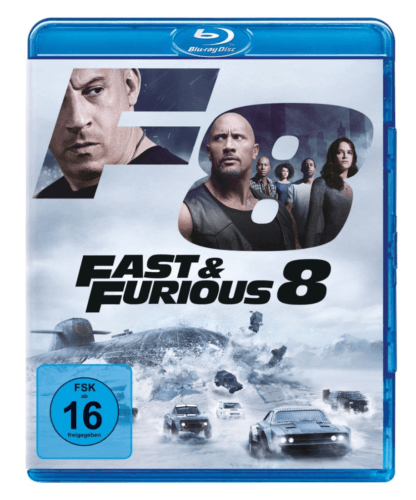 """Fast & Furious 8"" Blu-ray"