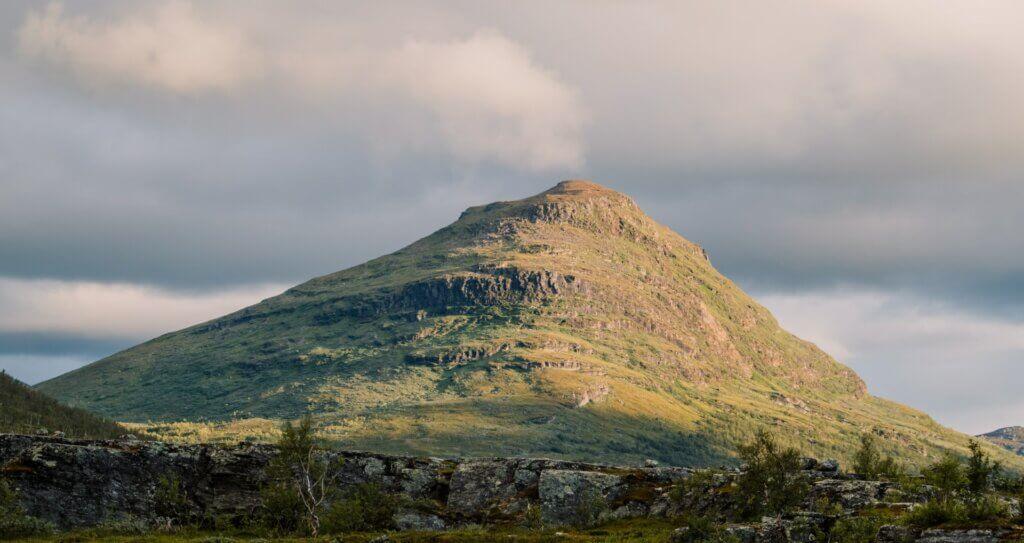 Schwedisch Lappland Natur