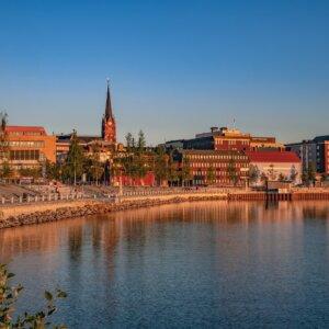Luleå: Das sonnige Zentrum des Nordens