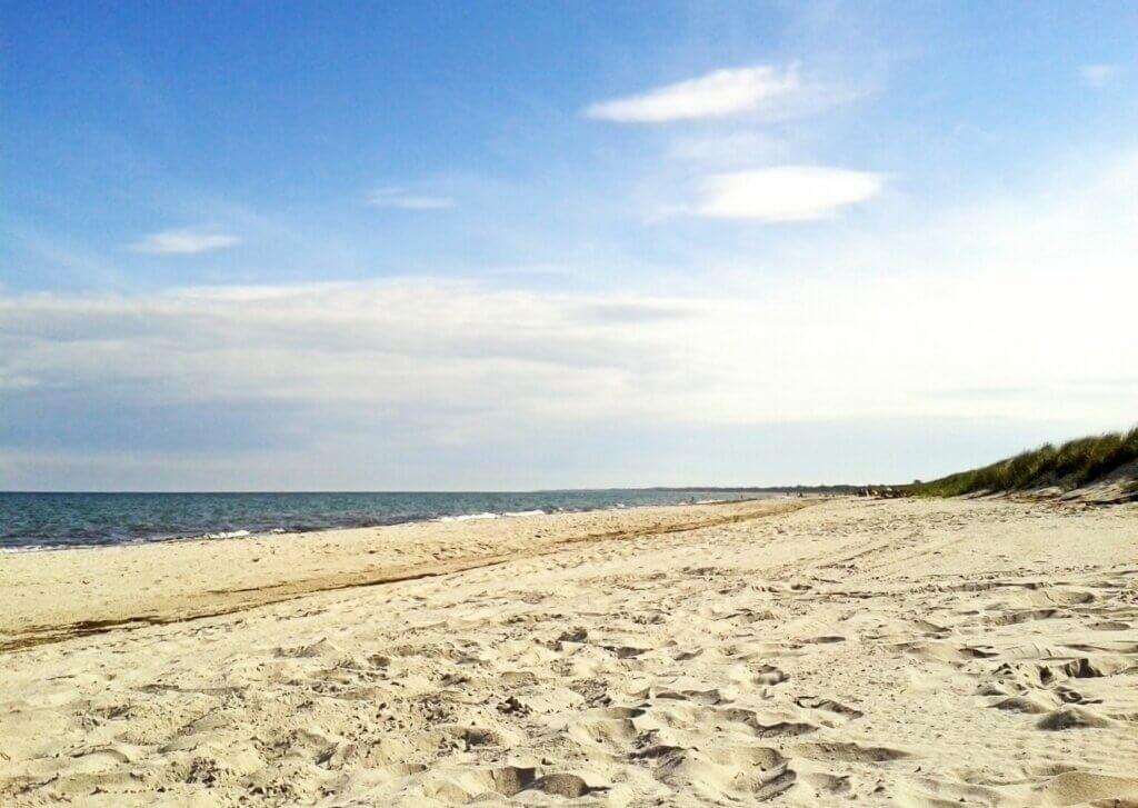 Marielyst: Strand