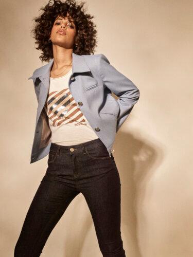 Mos Mosh Impressionen Damen Shirt, Jacke und Jeans