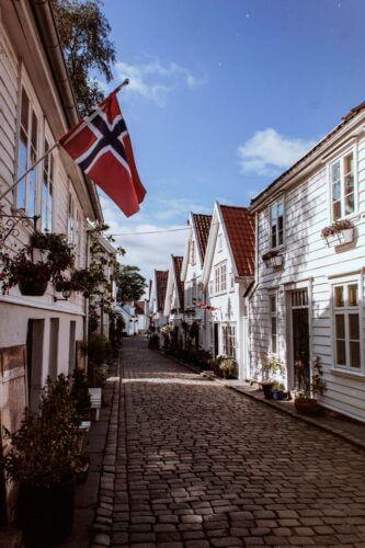 Norwegen Flagge Bedeutung