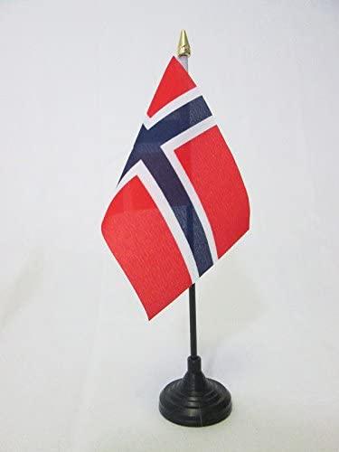 Norwegen Flagge Tischflagge