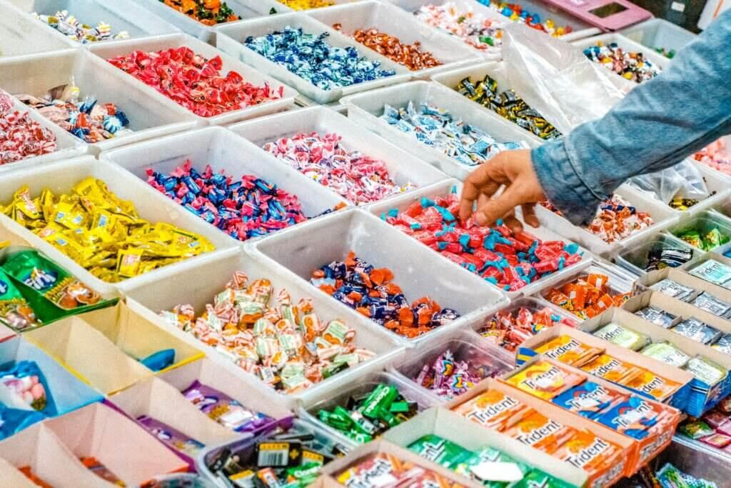 Schwedische Süßigkeit: Plockgodis