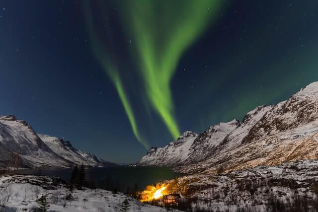 Polarlichter in Tromso