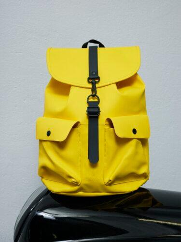 Rains Impressionen Rucksack gelb