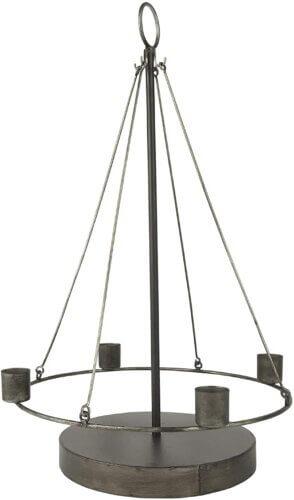 Schwebender Kerzenhalter Adventskranz Ib Laursen