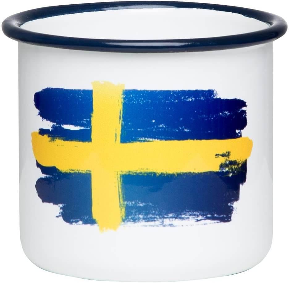 Schweden Flagge Tasse