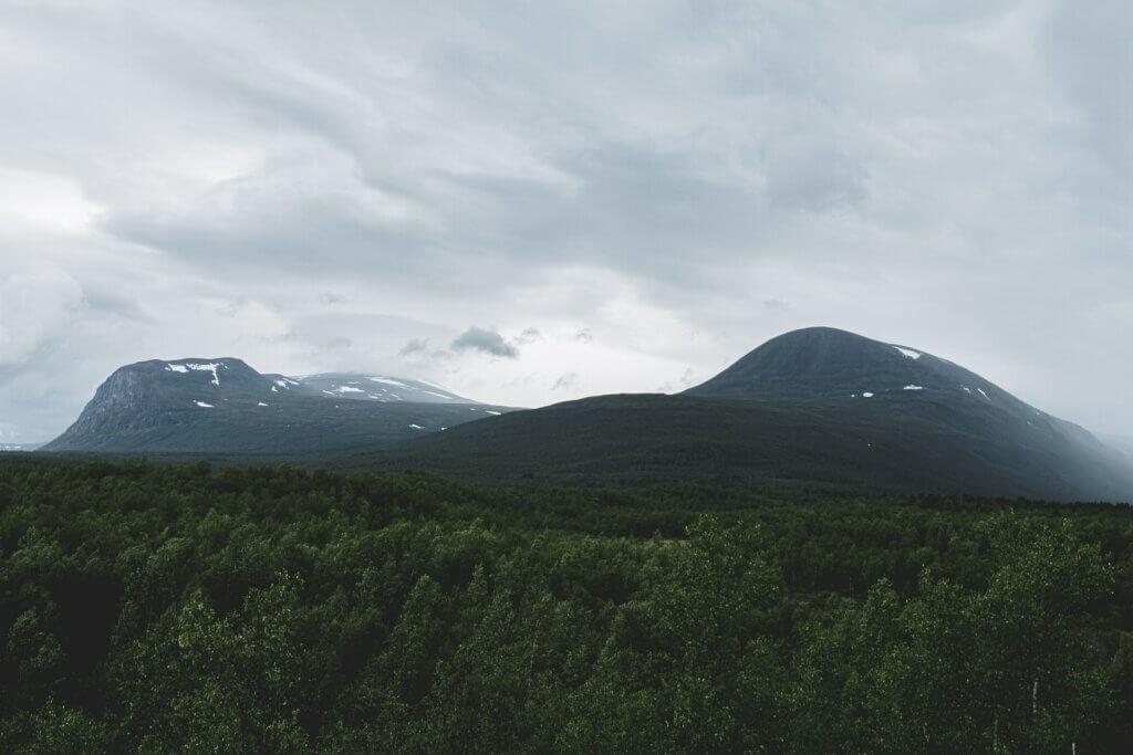 Schwedisch Lappland Natur Kebnekaise