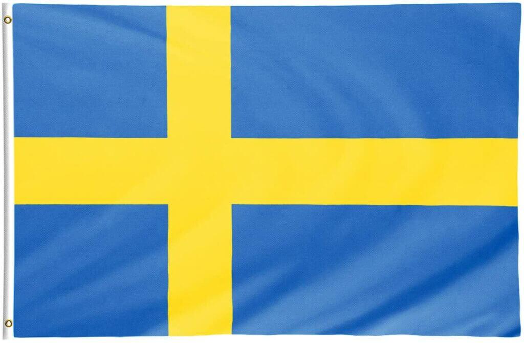 Schweden Flagge groß