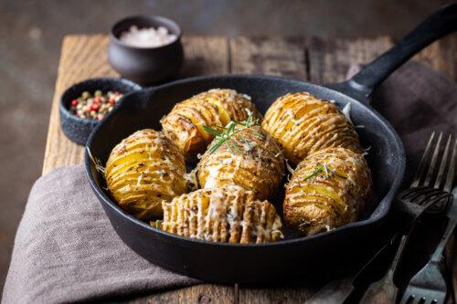 Schwedische Kartoffeln – Lecker aus dem Ofen