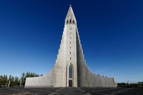 Sehenswürdigkeiten Reykjavík Hallgrímskirkja